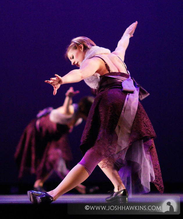 Chicago Tap Theatre - Tap!(ish).Destinations, choreography by Mark Yonally.Dancer, Christina Merrill (Josh Hawkins)