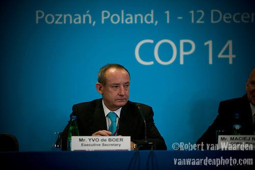 UNFCCC Executive Secretary Yvo de Boer