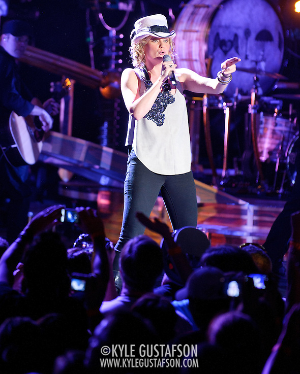COLUMBIA, MD - May 22nd, 2011: Jennifer Nettles of Sugarland performs at Merriweather Post Pavilion. The band released their fourth album, The Incredible Machine, in October of 2010. (Photo by Kyle Gustafson/For The Washington Post) (Photo by Kyle Gustafson / For The Washington Post)