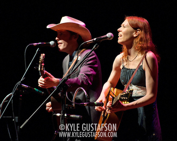 BETHESDA, MD - August 2nd, 2011 - Gillian Welch and David Rawlings perform at the Strathmore Music Hall in Bethesda. The duo, who record under the name Gillian Welch, released the album The Harrow & The Harvest in June.   (Photo by Kyle Gustafson/FTWP) (Kyle Gustafson/FTWP)
