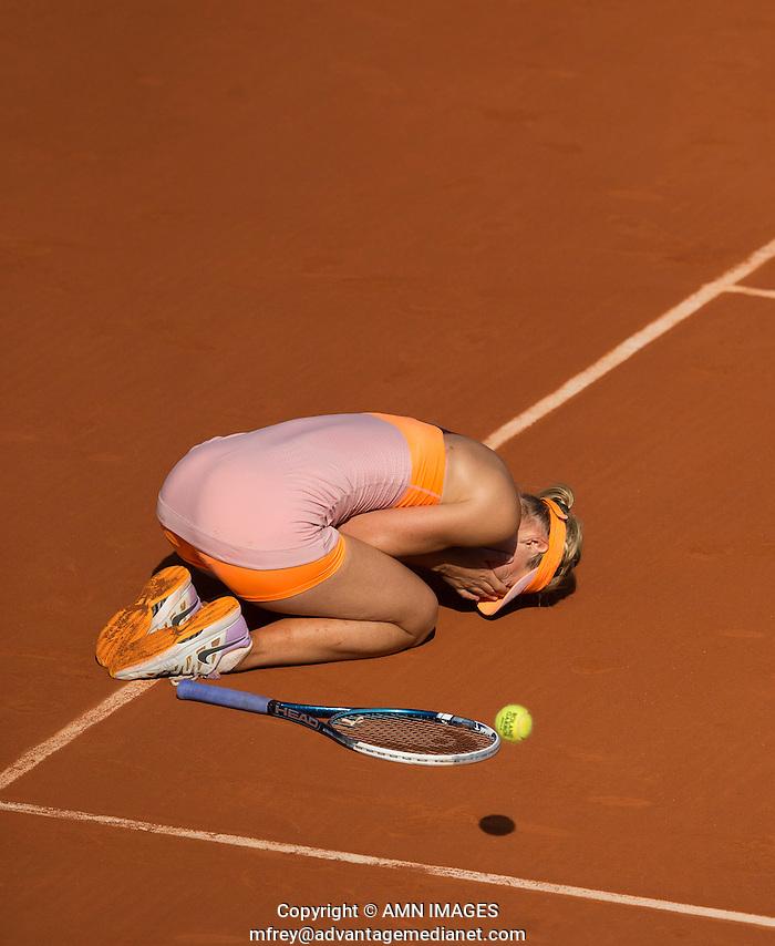 MARIA SHARAPOVA (RUS) Tennis - French Open 2014 -  Toland Garros - Paris -  ATP-WTA - ITF - 2014  - France  7th  June 2014.  © AMN IMAGES (FREY/FREY- AMN Images)