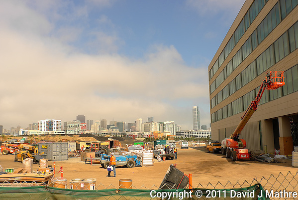 Construction Site UCSF South Bay Campus. Image taken with a Leica X1 camera (ISO 100, 24 mm, f/5.6, 1/800 sec). (David J Mathre)