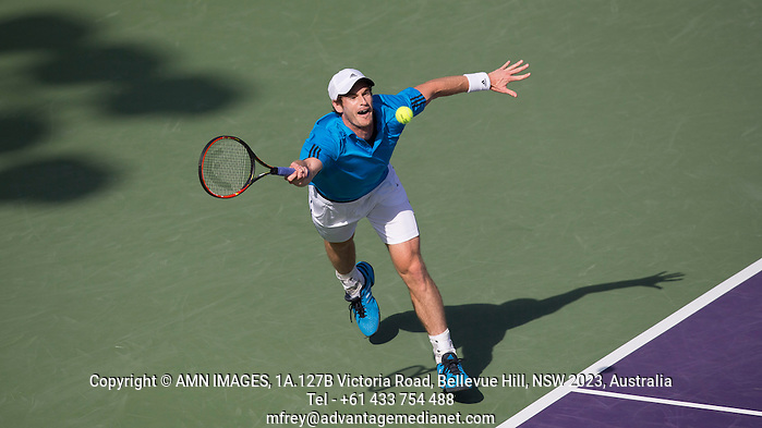 ANDY MURRAY (GBR) Tennis - Sony Open -  Miami -   ATP-WTA - 2014  - USA  -  26 March 2014.  © AMN IMAGES (FREY/FREY- AMN Images)