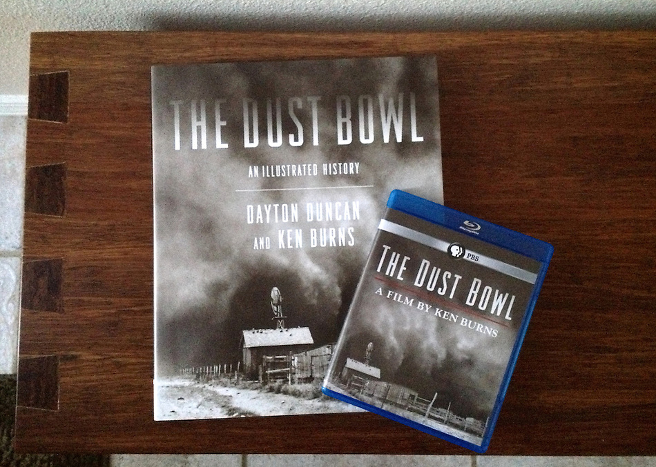 Ken Burns and Dayton Duncan'sThe Dust Bowl, An Illustrated Histroy Book and The Dust Bowl Film on Blu-ray (Ron Karpilo)