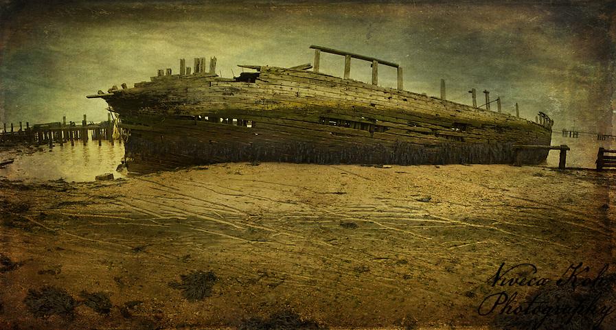 Wrecked boat (Viveca Koh ARPS)