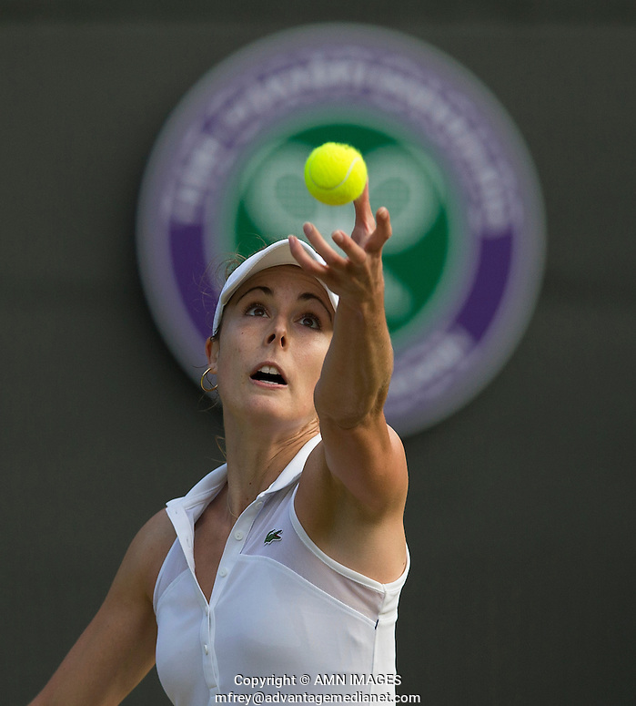 ALIZE CORNET (FRA) The Championships Wimbledon 2014 - The All England Lawn Tennis Club -  London - UK -  ATP - ITF - WTA-2014  - Grand Slam - Great Britain -  28th June 2014.  © AMN IMAGES (FREY/FREY- AMN Images)