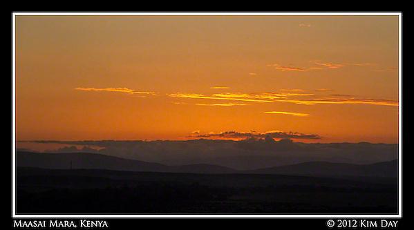 Maasai Mara Sunrise (Kim Day)