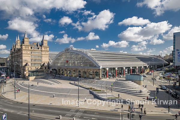 Liverpool Lime Street Gateway Project & Railway Station - photograph by Simon Kirwan www.the-lightbox.com