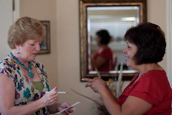 Martha Tessmer started the Mother of an Angel Friendship Network after her teenage son Donovan died in a distracted driving car accident. The support group is for mothers who have lost a child to death. (bryan farley)