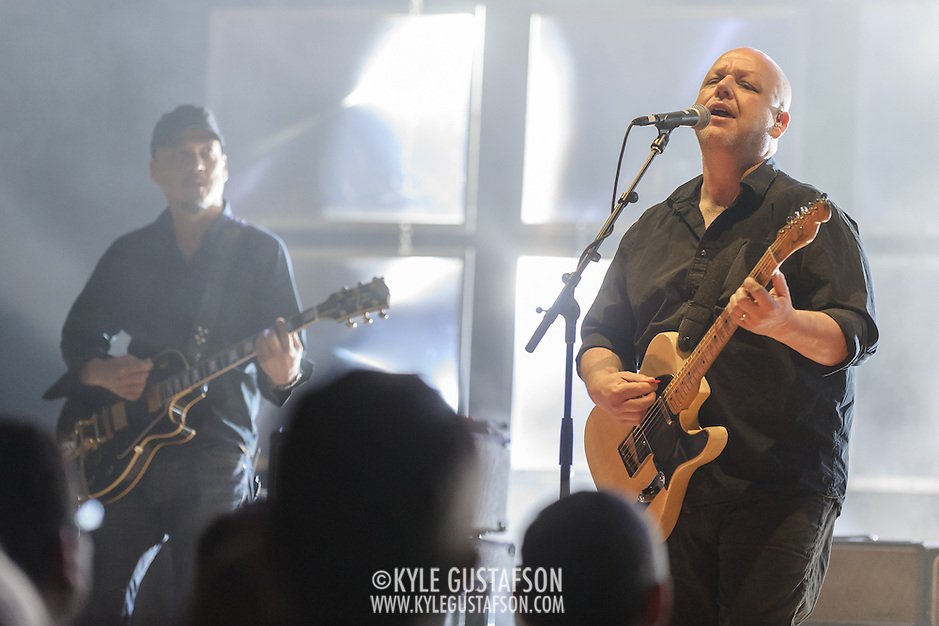 BETHESDA, MD - January 26th, 2014 - The Pixies perform at the Music Center at Strathmore in Bethesda, MD. (Photo for Kyle Gustafson for I.M.P. Productions) (Kyle Gustafson/Photo by Kyle Gustafson)