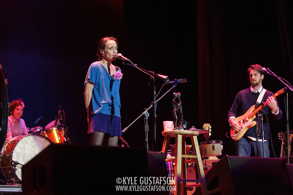 Fiona Apple and Blake Mills perform at the Lincoln Theatre in Washington, D.C. (Photo by Kyle Gustafson / www.kylegustafson.com) (Kyle Gustafson/Photo by Kyle Gustafson)