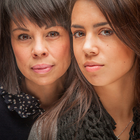 Kelley Mills and her daughter, Olivia,  Anchorage (© Clark James Mishler)