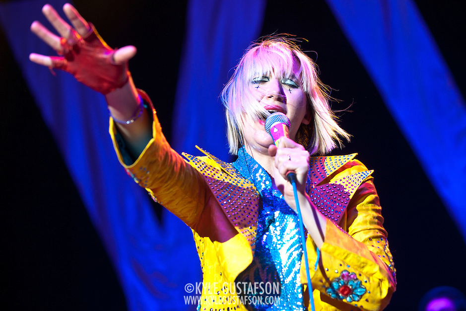 The Yeah Yeah Yeahs Perform at the 2013 Sweetlife Festival (Kyle Gustafson/Photo by Kyle Gustafson)