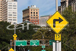 road sign in New York City in October 2008 (Christopher Holt LTD - LondonUK, Christopher Holt LTD/Image by Christopher Holt - www.christopherholt.com)