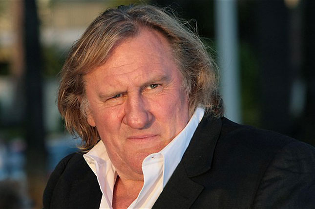 Depardieu compara a Putin con Juan Pablo II y Fran&ccedil;ois Miterrand