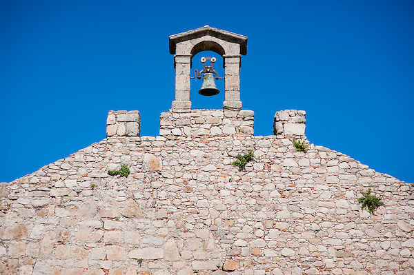 Medieval wall with bell in Trujillo (Spain) (Carlos Peñalba)