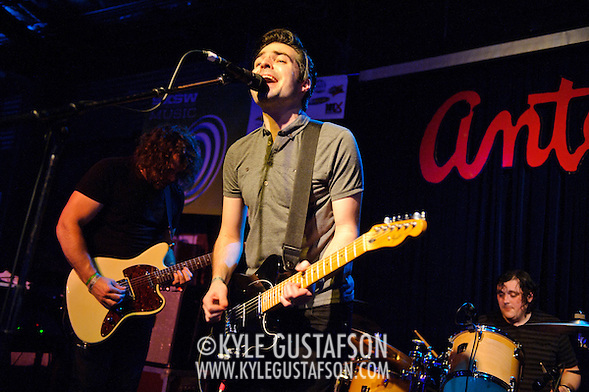 AUSTIN, TX - March 17th: The Boxer Rebellion perform at the Live4ever.com British Music showcase at Antone's as part of the 2011 South by Southwest Festival. (Photo by Kyle Gustafson) (Kyle Gustafson)