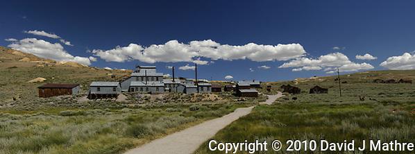 Bodie Ghost Town Gold Mine Panorama. (David J Mathre)