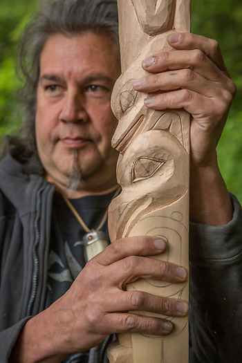 Carver Tommy Joseph, Sitka, Alaska (Clark James Mishler)