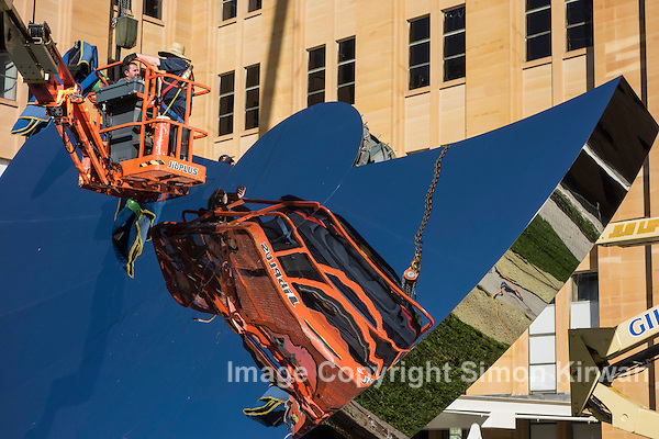 Anish Kapoor Sydney Sky Mirror Dismantled - Photo By Simon Kirwan