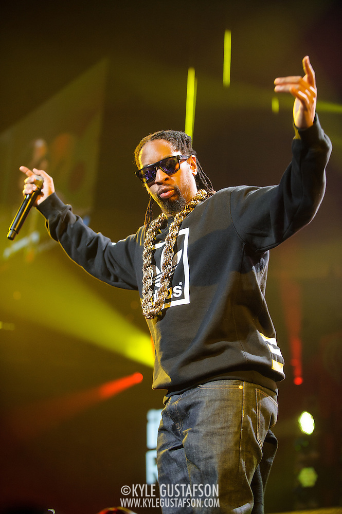 WASHINGTON, DC - December 15th, 2014 - Lil Jon performs onstage during HOT 99.5's Jingle Ball 2014 at the Verizon Center in Washington, D.C. (Photo By Kyle Gustafson / For The Washington Post) (Kyle Gustafson/For The Washington Post)