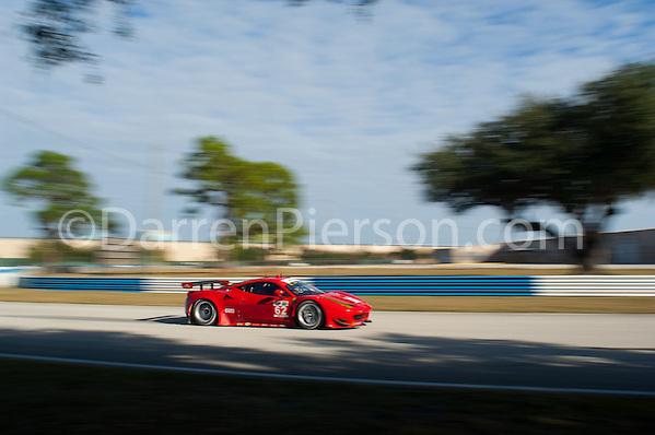 #62 Ferrari Corse Clienti Ferrari 458: Gianmaria Bruni, Toni Vilander, Giancarlo Fisichella, Olivier Beretta (Darren Pierson)