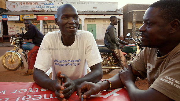 Still from Tom Pietrasik film from Uganda In Kony's Shadow: Norman Okello's Story. 2013 (Tom Pietrasik)