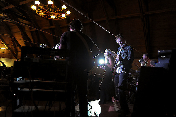 NAPERVILLE, IL- NOVEMBER 20:  Barnstock 2010 was held at The Barn, a famous youth recreation center located in Naperville, Illinois, to celebrate its 45th anniversary on November 20, 2010.  Invited musicians from the bands that played there from 1965-1973 rejoined for a night of music and memories. Pictured here is Winslow Savage. (Photo by Ron Vesely) (Ron Vesely)