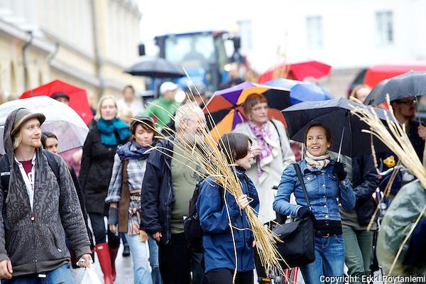 Hyvän ruoan Marssi.Good Food March (Photographer: Erkki Poytaniemi)