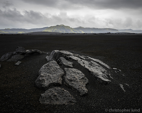 Veiðivatnahraun lava field, Central Highlands of Iceland. (Christopher Lund/©2014 Christopher Lund)