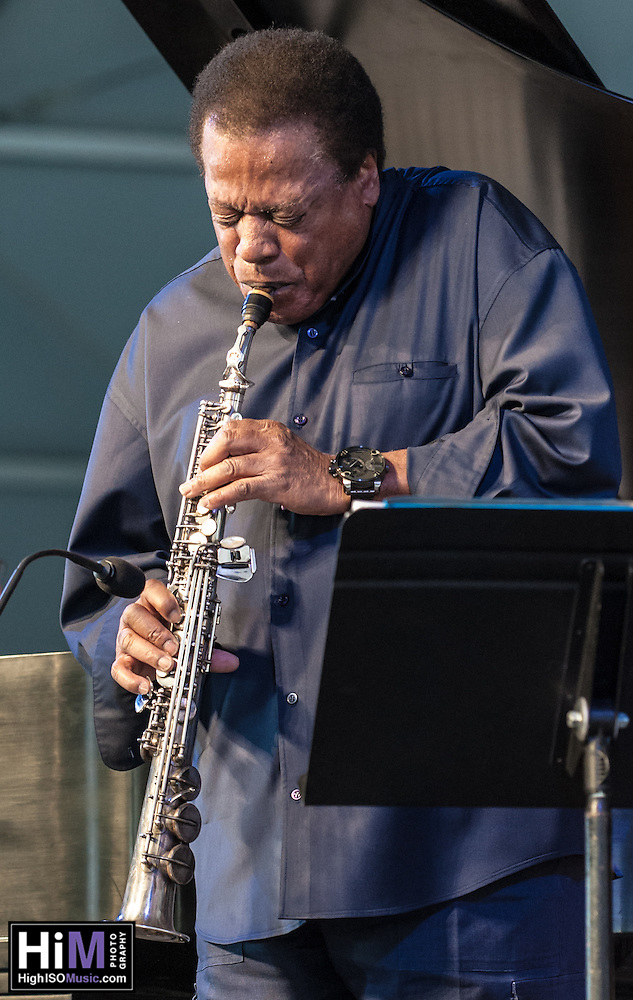The Wayne Shorter Quartet, featuring Damilo Perez, John Patitucci, and Brian Blade, perform at the 2013 Jazz and Heritage Festival in New Orleans, LA on May 5, 2013.  © HIGH ISO Music, LLC / Retna, Ltd. (HIGH ISO Music, LLC)