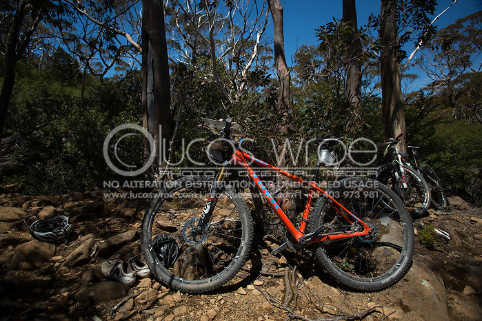 Bikes. Adventure Racing. Swisse Mark Webber Challenge 2013. Tasmania, Australia. 30/11/2013. Photo By Lucas Wroe (Lucas Wroe)