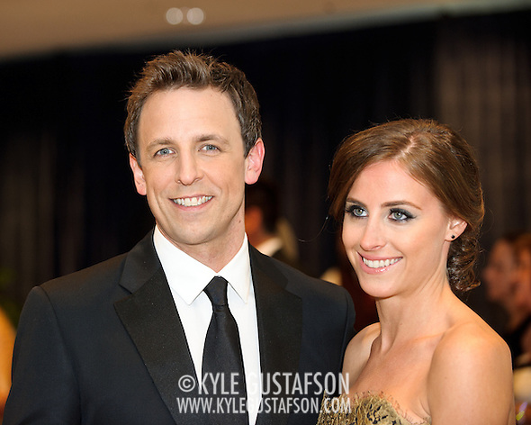 Seth Meyers, Alexi Ashe (Kyle Gustafson/Photo by Kyle Gustafson)