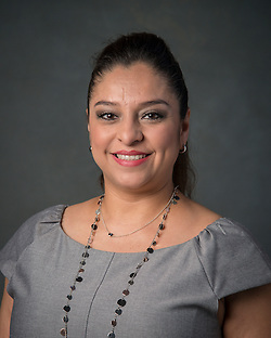 Ruth Ruiz poses for a photograph, September 2, 2015. (Houston ISD/Dave Einsel)