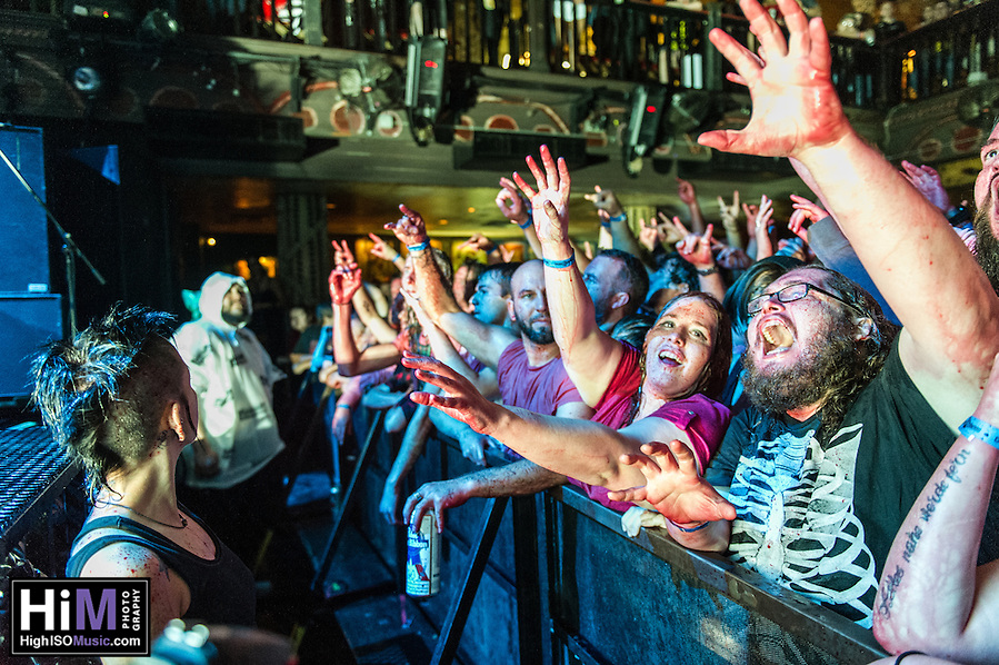 Gwar performs at the House of Blues in New Orleans, LA on October 24, 2014. (HIGH ISO Music, LLC)
