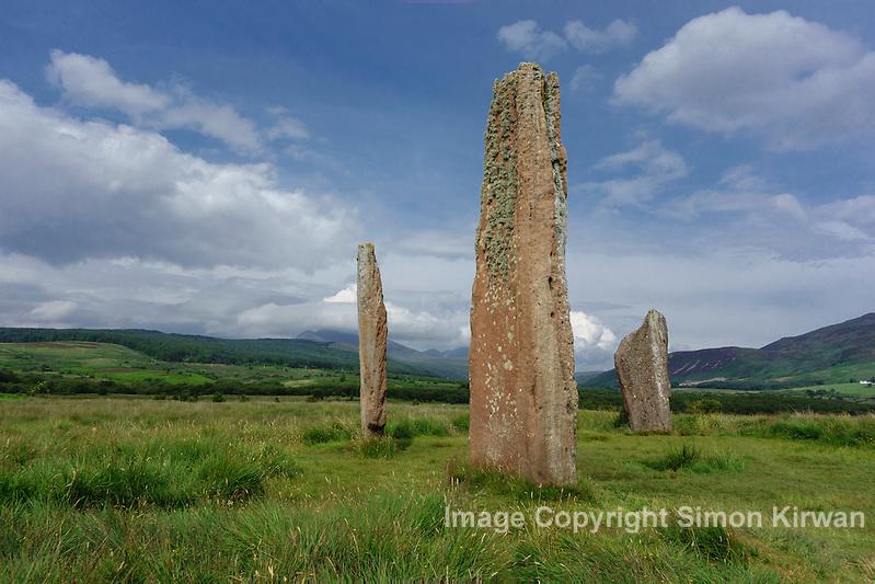 Machrie Moor Stone Circle, Isle of Arran, Scotland - Photo By Simon Kirwan