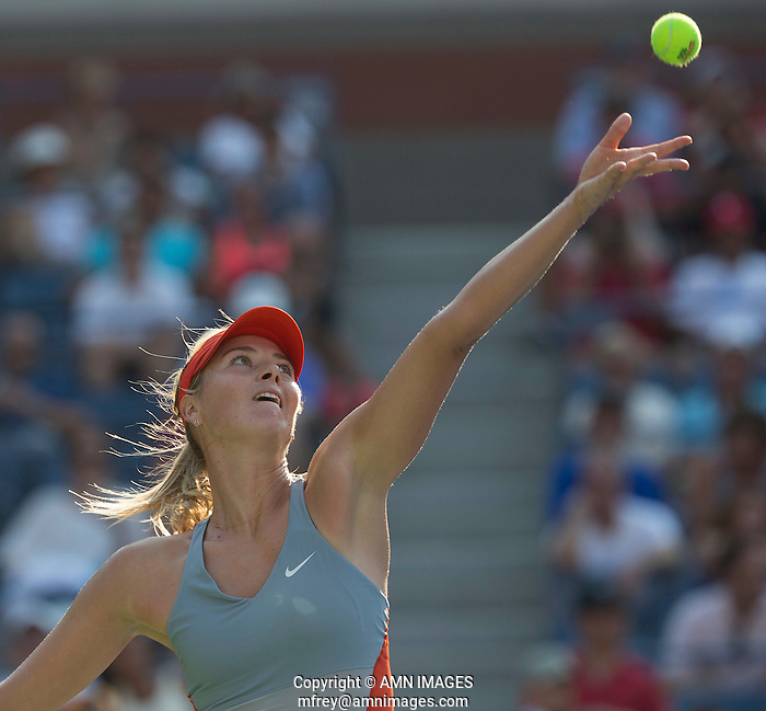 MARIA SHARAPOVA (RUS) The US Open Tennis Championships 2014 - USTA Billie Jean King National Tennis Centre -  Flushing - New York - USA -   ATP - ITF -WTA  2014  - Grand Slam - USA  27th August 2014.  © AMN IMAGES (FREY/FREY-AMN IMAGES)