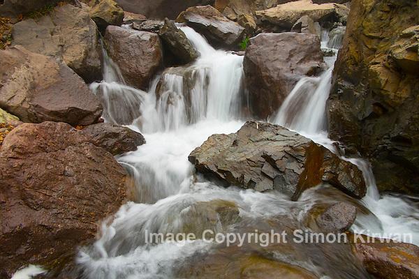 Cascade d'Imlil Waterfall, Toubkal, Atlas Mountains, Morocco - Photo By Simon Kirwan