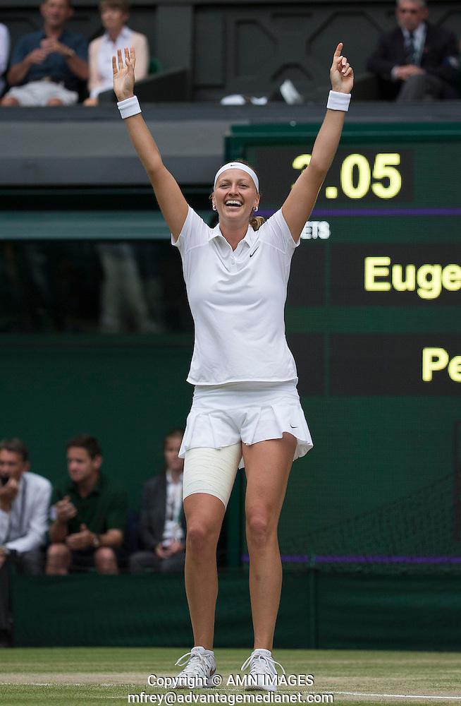 PETRA KVITOVA (CZE) The Championships Wimbledon 2014 - The All England Lawn Tennis Club -  London - UK -  ATP - ITF - WTA-2014  - Grand Slam - Great Britain -  5th July  2014.  © AMN IMAGES (FREY/FREY- AMN Images)