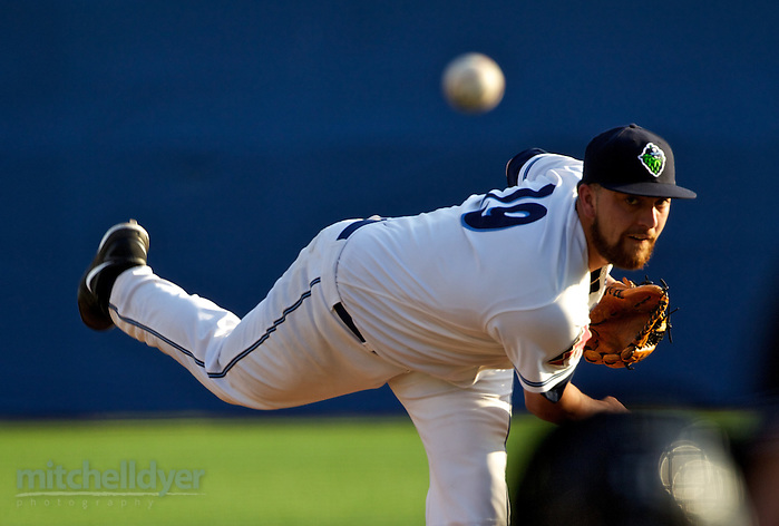 HILLSBORO, OR - SEPTEMBER 7: The Hillsboro Hops vs the Vancouver Canadians in game 2 of the NWL Championship at Ron Tonkin Field in Hillsboro, OR. (Craig Mitchelldyer/Hillsboro Hops) (Craig Mitchelldyer/Hillsboro Hops)