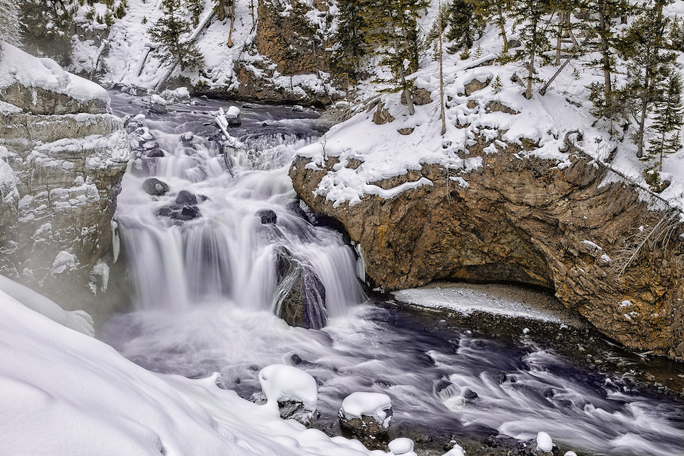 Waterfalls: Firehole Falls in Yellowstone National Park (Doug Oglesby)