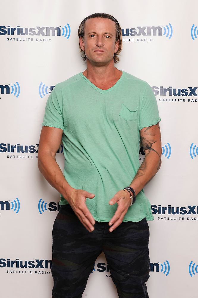 Portraits of DJ Daniel Powter at SiriusXM Studios, NYC. August 16, 2012. Copyright © 2012 Matthew Eisman. All Rights Reserved. (Photo by Matthew Eisman/ Getty Images)