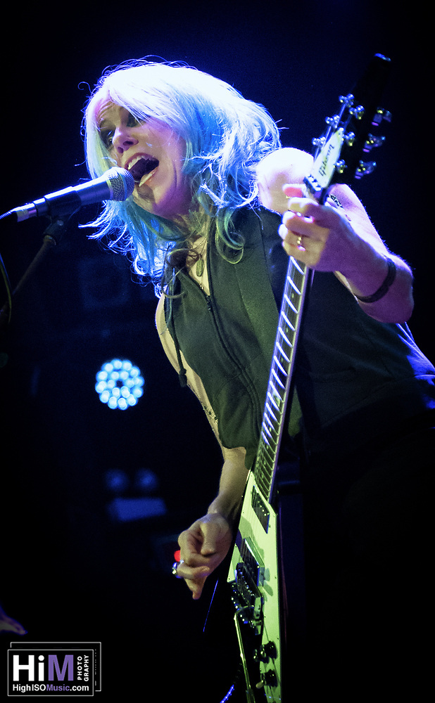 L7 at the Catalyst in Santa Cruz. (High ISO Music)