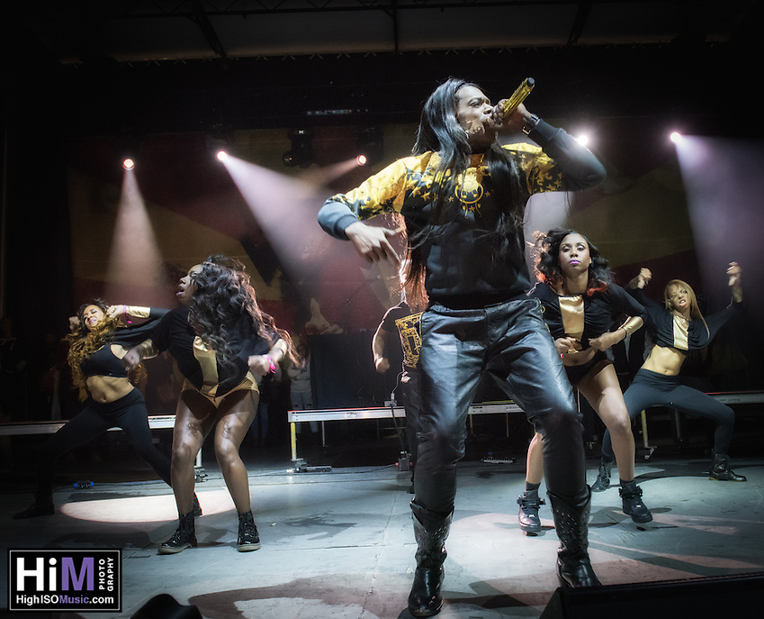 Big Freedia performs at the 2014 Voodoo Music Experience in New Orleans, LA. (HIGH ISO Music, LLC)