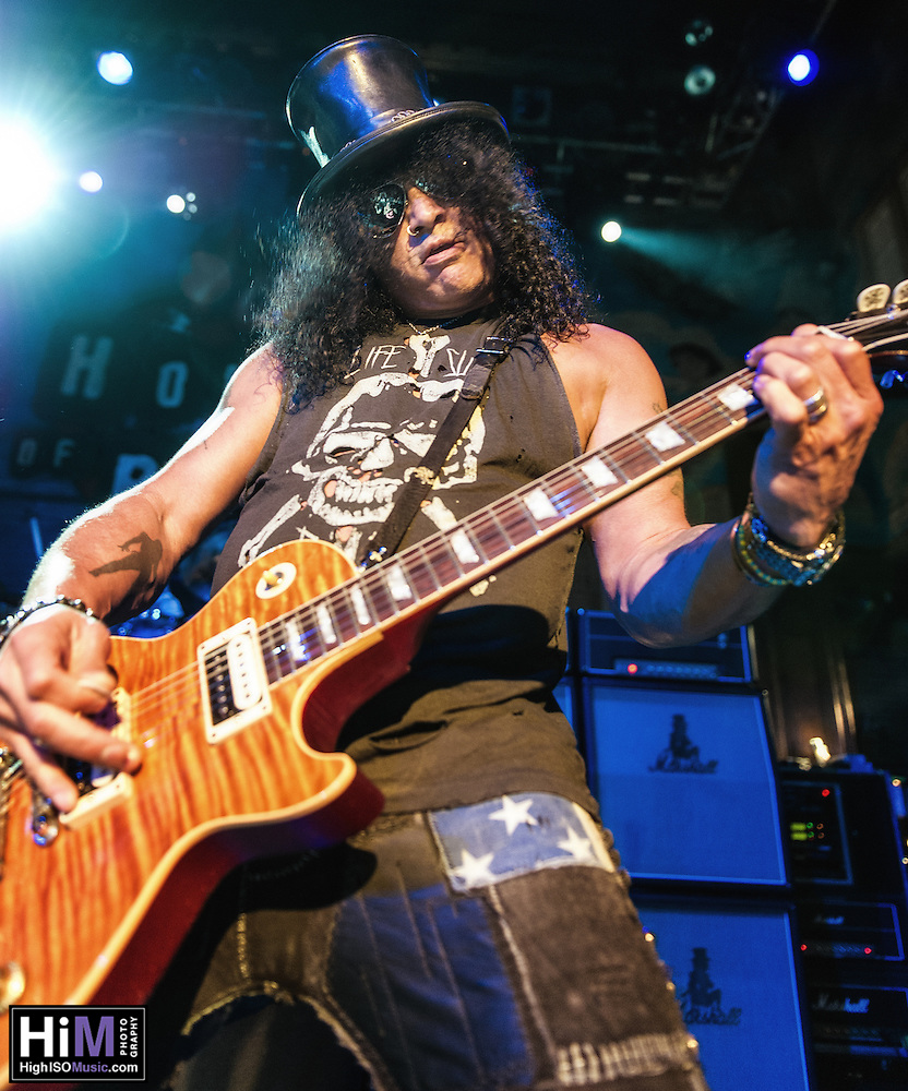 Slash with Myles Kennedy and the Conspirators at the House of Blues in New Orleans, LA. (© HIGH ISO Music, LLC)