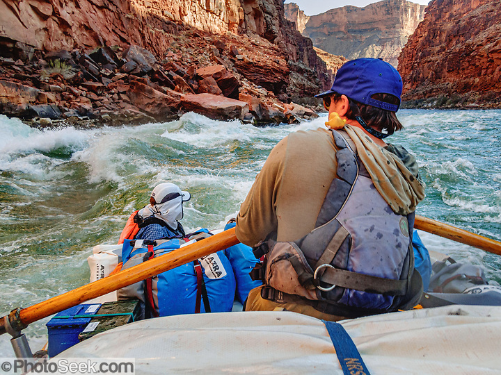 Day 1 of 16 rafting the Colorado River through Grand Canyon National Park, Arizona, USA. For this photo's licensing options, please inquire at PhotoSeek.com. . (© Tom Dempsey / PhotoSeek.com)