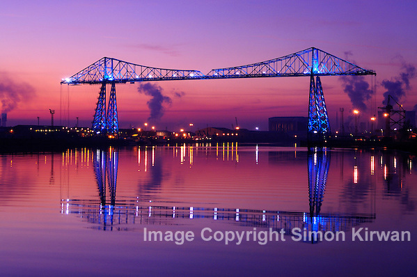 Tees Transporter Bridge Middlesbrough - Photo By Simon Kirwan