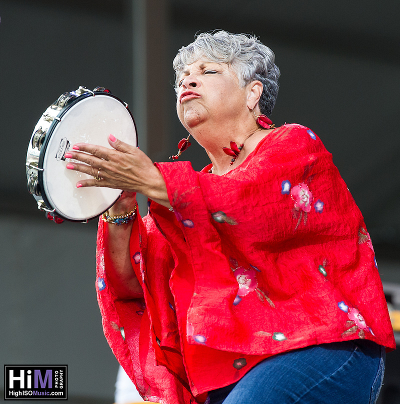 Wanda Rouzant performs at the 2013 New Orleans Jazz and Heritage Festival on April 26, 2013 in New Orleans, LA.  © HIGH ISO Music, LLC / Retna, Ltd. (HIGH ISO Music, LLC)