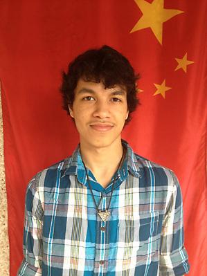 Erik Herrera of the Houston Academy of International Studies. (Web Team)