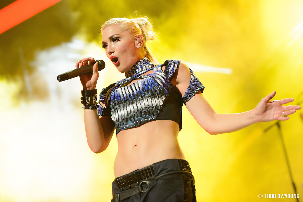 No Doubt performing at the iHeartRadio Music Festival in Las Vegas, Nevada on September 21, 2012. (Todd Owyoung)